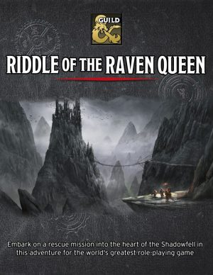 Cover from Riddle of the Raven Queen (1)