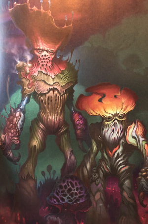 The Myconids from the Monster Manual
