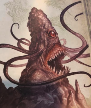 The Roper art from the Monster Manual