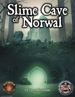 The cover for the D&D Adventure Slime Cave of Norwal