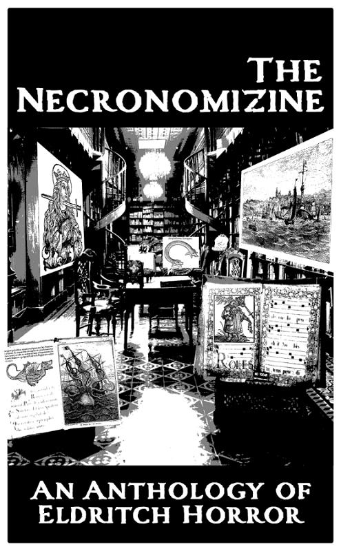 The Cover of the Necronomizine
